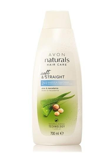 Avon Aloe ve Macadamia Şampuan ve Saç Kremi 700 Ml Renksiz